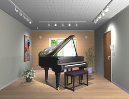 ピアノ防音室