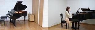 響きの良いピアノ・各種楽器防音室のイメージ