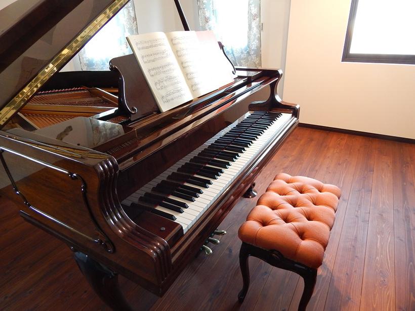 グランドピアノ防音室
